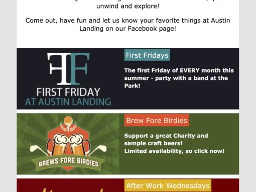 Austin Landing Email